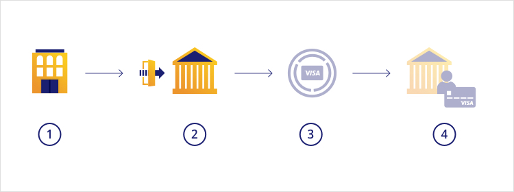 connect to Visa